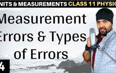 L4 – Measurement Errors – Units and Measurements