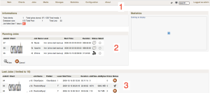 Bacula web interface