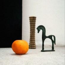 La torre, el caballo y el mandarino