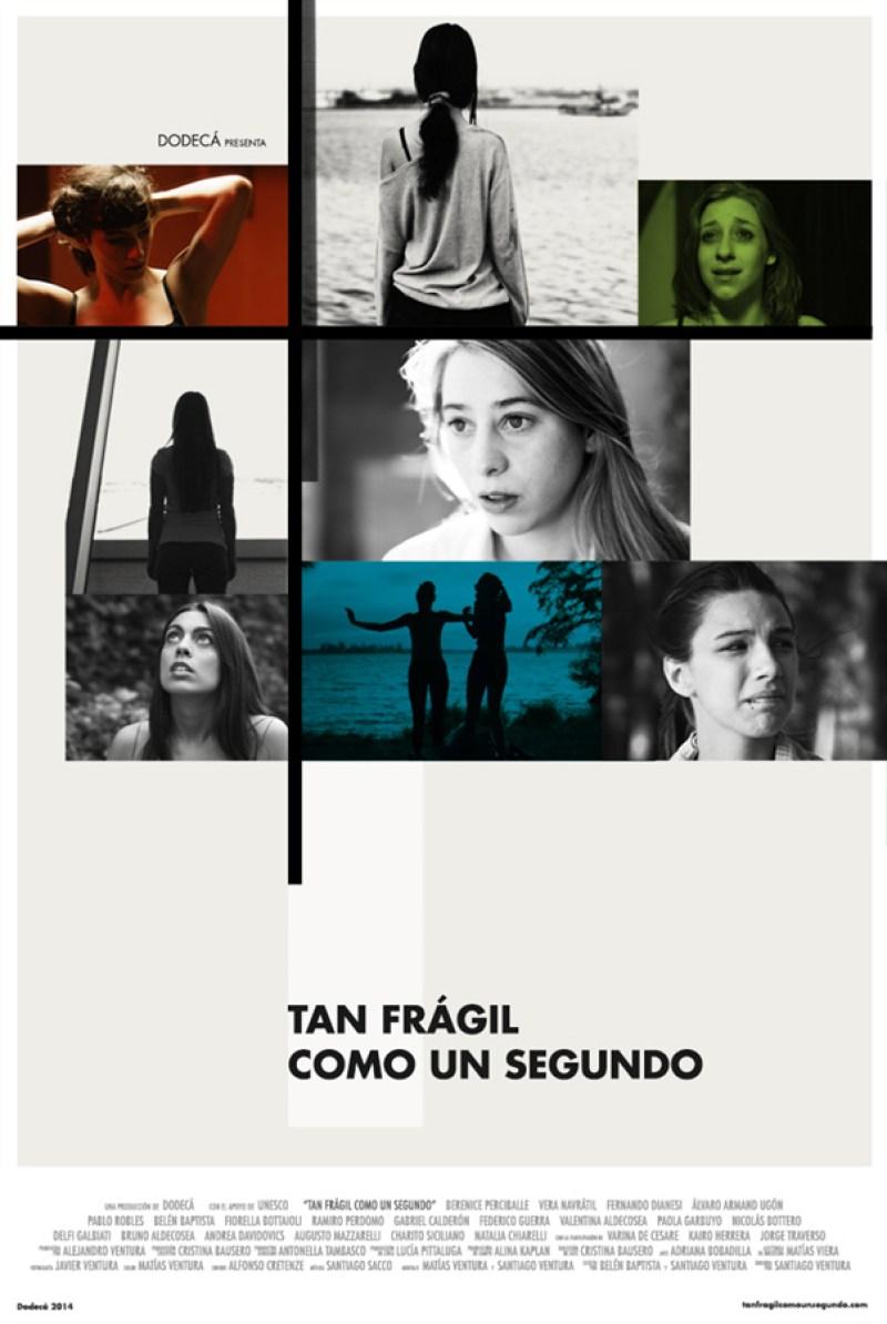 Tan frágil como un segundo (premiere), 2014