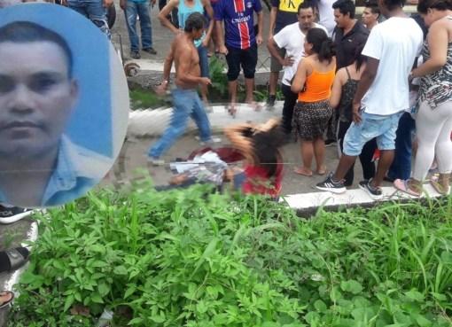 Un hombre fue asesinado al estilo sicariato en la avenida Walter Andrade, frente al sector La Loreto, cantón Quevedo.