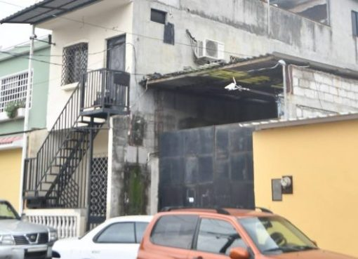 La vivienda donde estuvo secuestrada la mujer por varios días