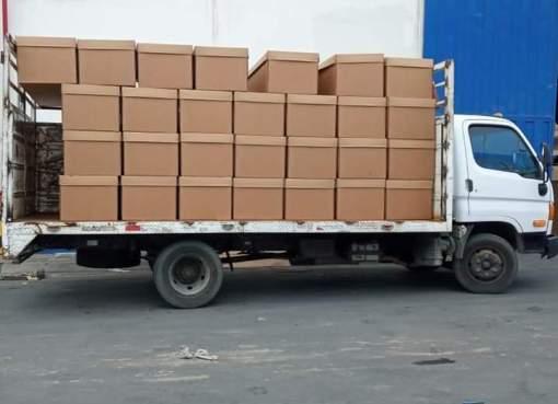 cajas mortuorias de cartón prensado