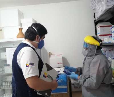 laboratorios autorizados en toma de pruebas del covid -19 en la