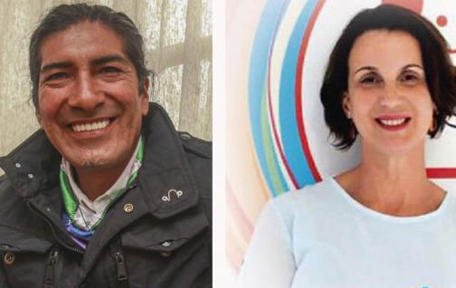 Yaku Pérez y Larrissa Marangoni integran el binomio de Pachakutik para las elecciones del 2021