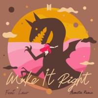 BTS - Make It Right (feat. Lauv) (Acoustic Remix)