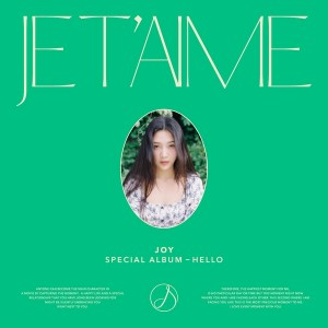 Download Joy RED VELVET - Je T`aime Mp3