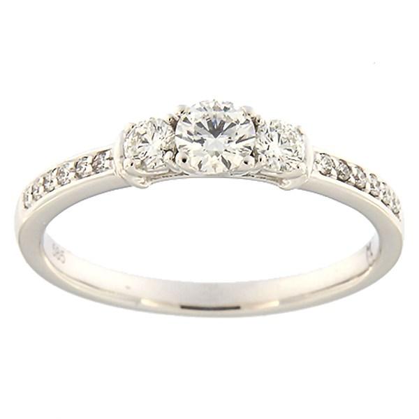 35ae9e0ccf5 Kullast sõrmus teemantidega 0,40 ct. Kood: 192ak · Esileht / Ehted /  Kihlasõrmused ...