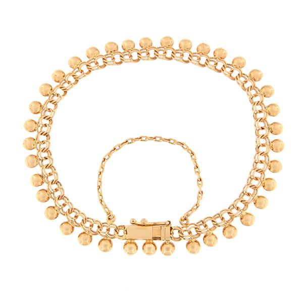 Gold bracelet Code: 24im