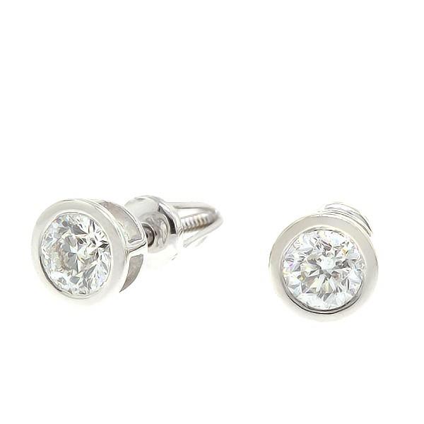 Kullast kõrvarõngad teemantidega 0,60 ct. Kood: 29an