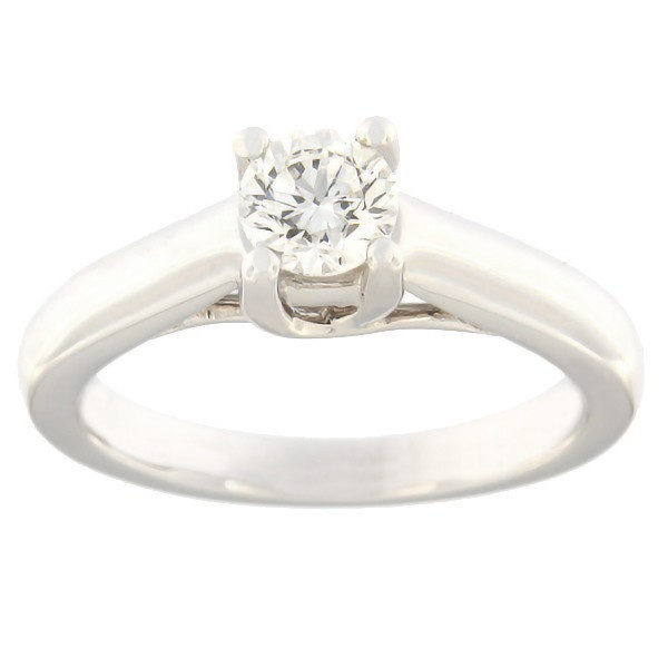 Gold ring with diamond 0,50 ct. Code: 4ax
