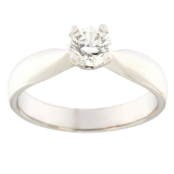 Kullast sõrmus teemantidega 0,50 ct. Kood: 4br
