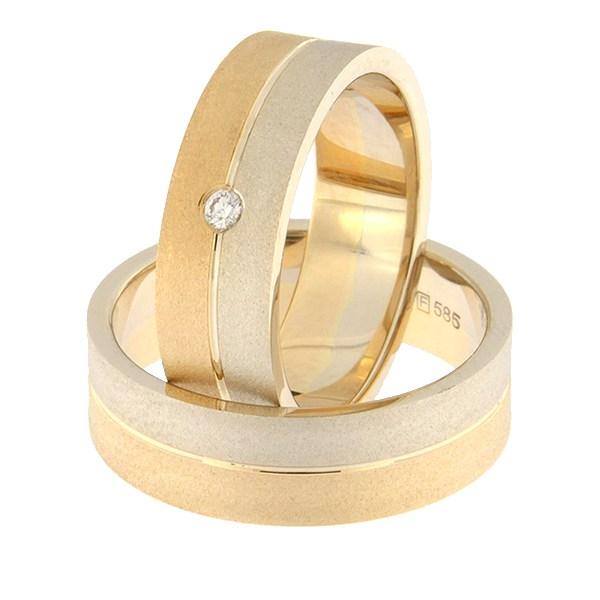 Kullast abielusõrmus Kood: rn0108-6-1/2vm2-1/2km2