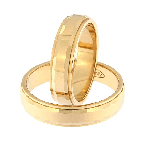 Золотое обручальное кольцо Kод: rn0111-5l-pkl-ak