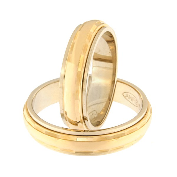 Gold wedding ring Code: rn0112-5l-pkl-av