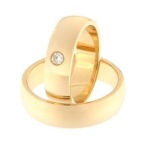 Золотое обручальное кольцо Kод: RN0116-6-1K