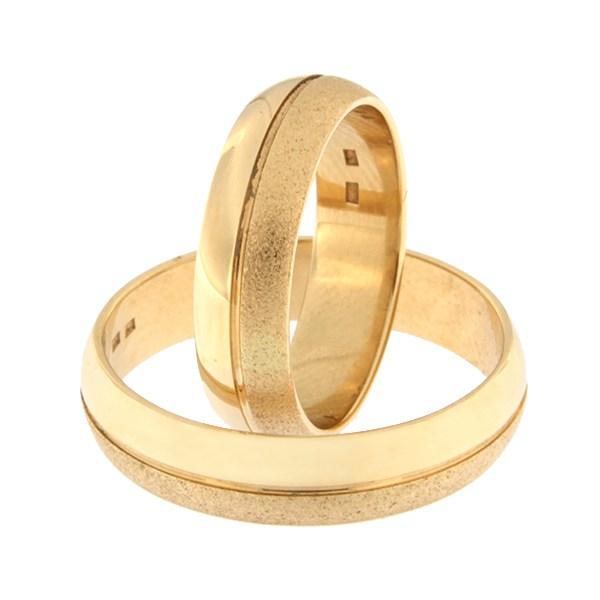 Gold wedding ring Code: rn0151-5-km2