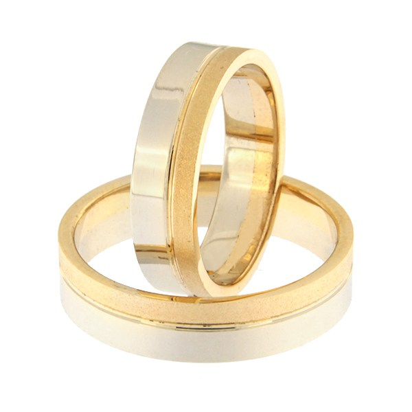 Gold wedding ring Code: rn0152-5-1/3km2-2/3vl