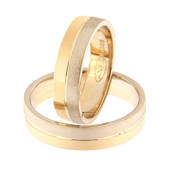 Kullast abielusõrmus Kood: rn0166-5-1/2vm2-1/2kl