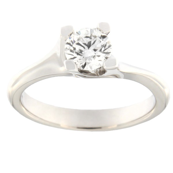 Gold ring with diamonds 0,70 ct. Code: b8001uni