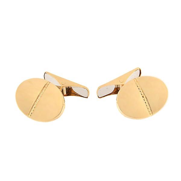 Gold cufflinks Code: cl0102