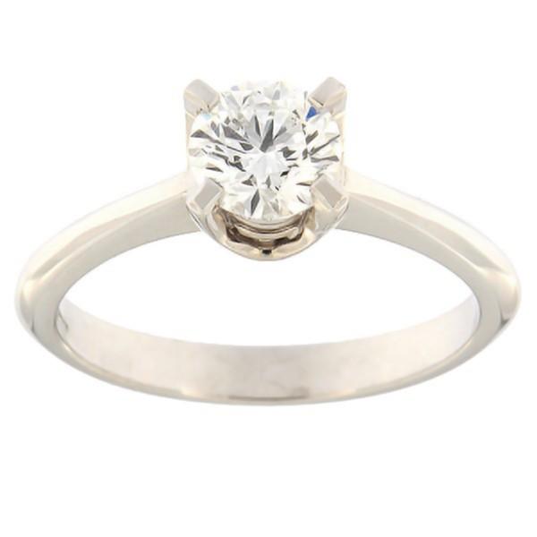 Золотое кольцо с бриллиантам 0,70 ct. Kood: e8009uni