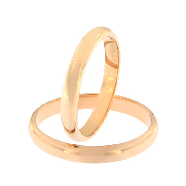 Gold wedding ring Code: kim-3