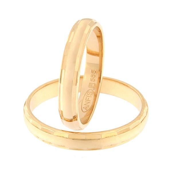 Kullast abielusõrmus Kood: rn0102-3,5-l