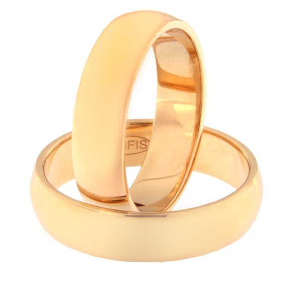 Gold wedding ring Code: rn0116-5