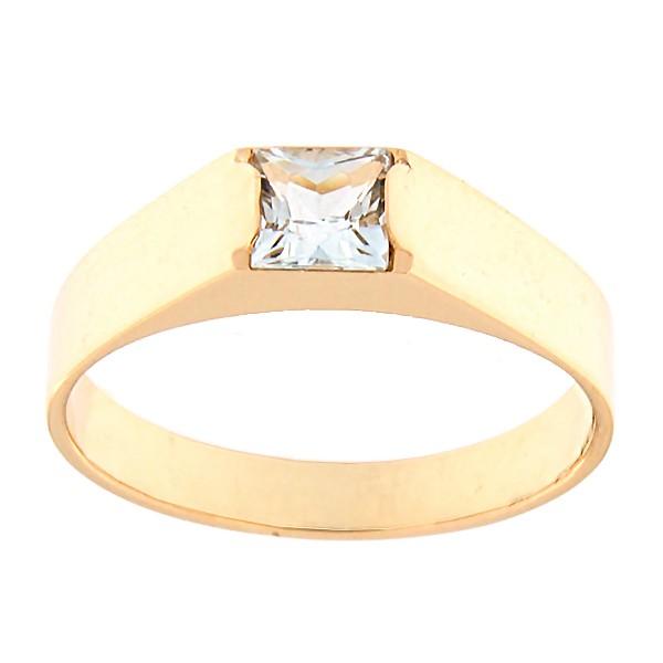 Kullast sõrmus topaasiga Kood: rn0123-topaas