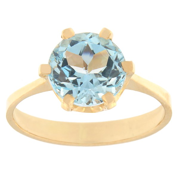 Gold ring with topaz Code: rn0153-topaas