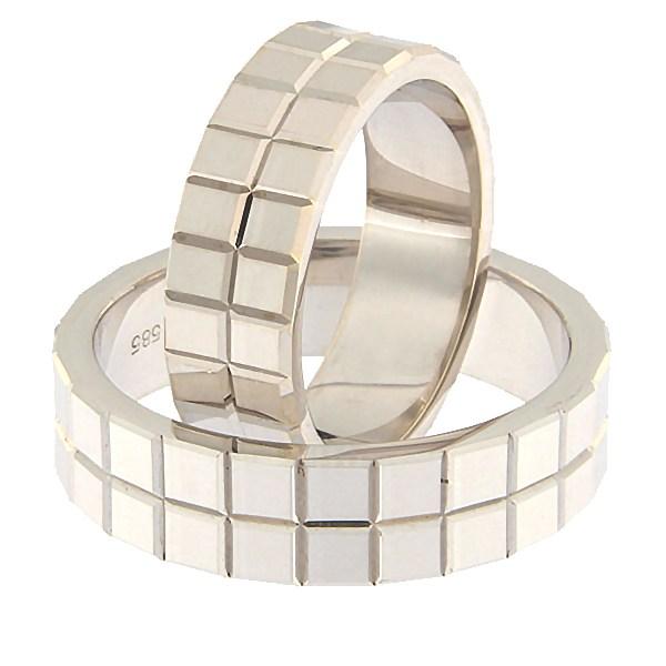 Gold wedding ring Code: rn0157-6-v