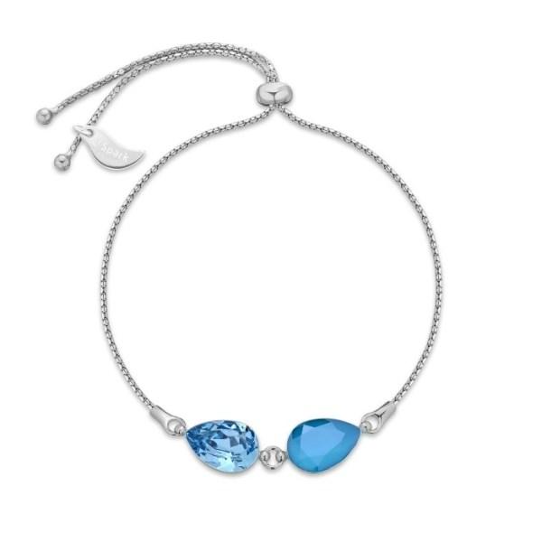 Hõbedast käekett Swarovski® kristallidega Kood: BW43201414AQAZB