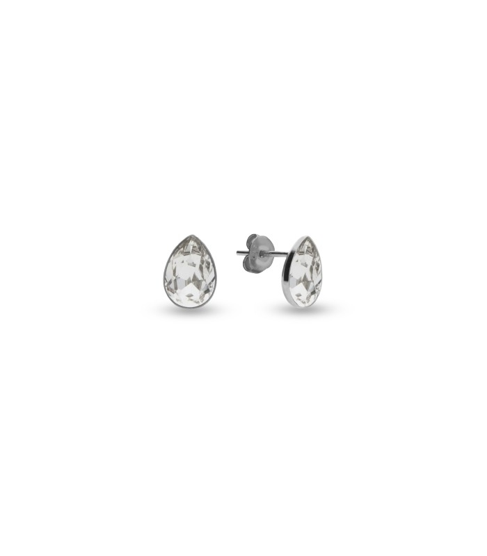 Silver earrings with Swarovski® crystals Code: K432010C