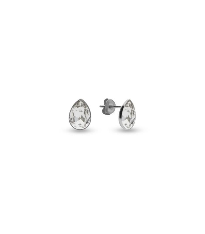 Hõbedast kõrvarõngad Swarovski® kristallidega Kood: K432010C