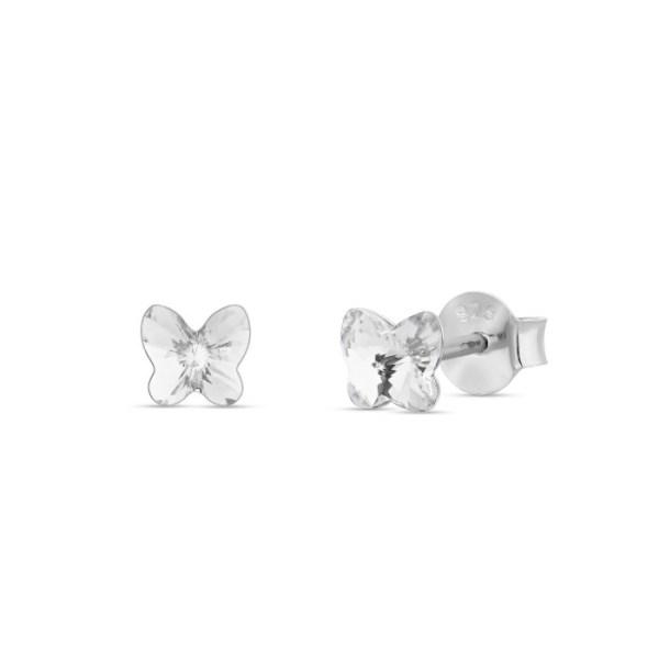 Hõbedast kõrvarõngad Swarovski® kristallidega Kood: K47485C
