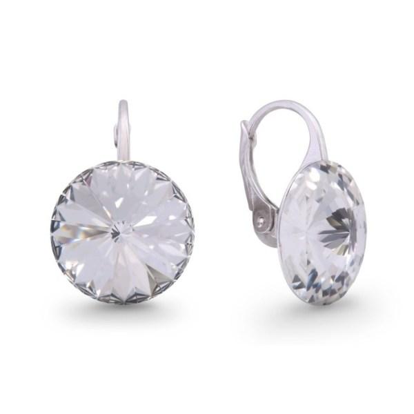 Hõbedast kõrvarõngad Swarovski® kristallidega Kood: KA112214C