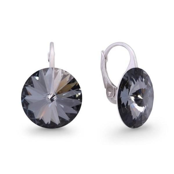 Hõbedast kõrvarõngad Swarovski® kristallidega Kood: KA112214SN