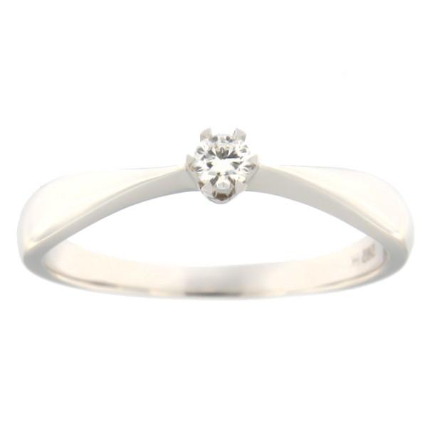 c5b915178f2 Kullast sõrmus teemantiga 0,10 ct. Kood: 16ha - MATIGOLD - Mati Kullaäri