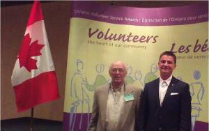 Volunteer Awardees Imbeau & Behnke May 2014
