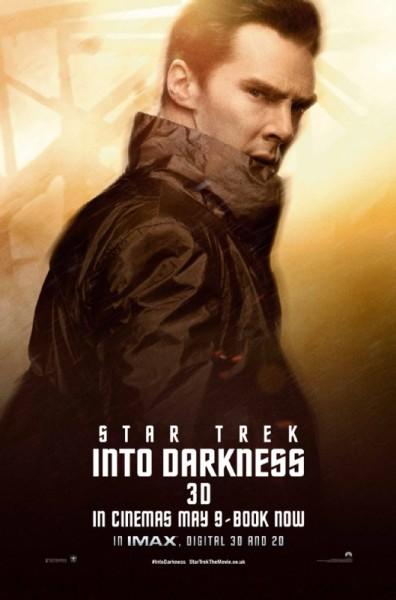 Benedict poster star trek