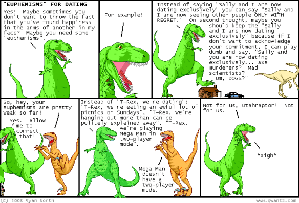 Dinosaur Comics! http://www.qwantz.com/index.php?comic=1350