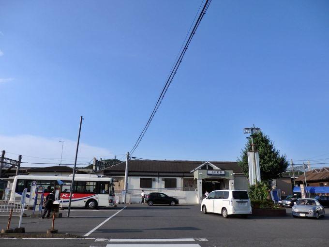 小川町駅の様子