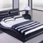 Napoli Modern Bed Black Matisseco