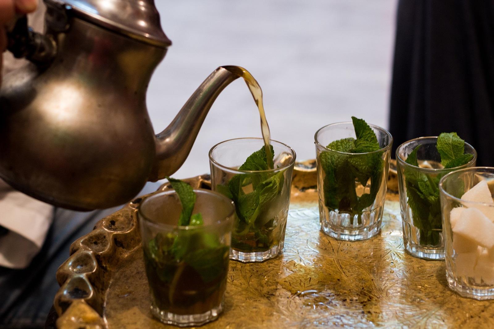 Marokkolainen minttutee avaa aistit