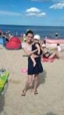 niemowle na plaży