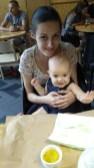 niemowle w restauracji