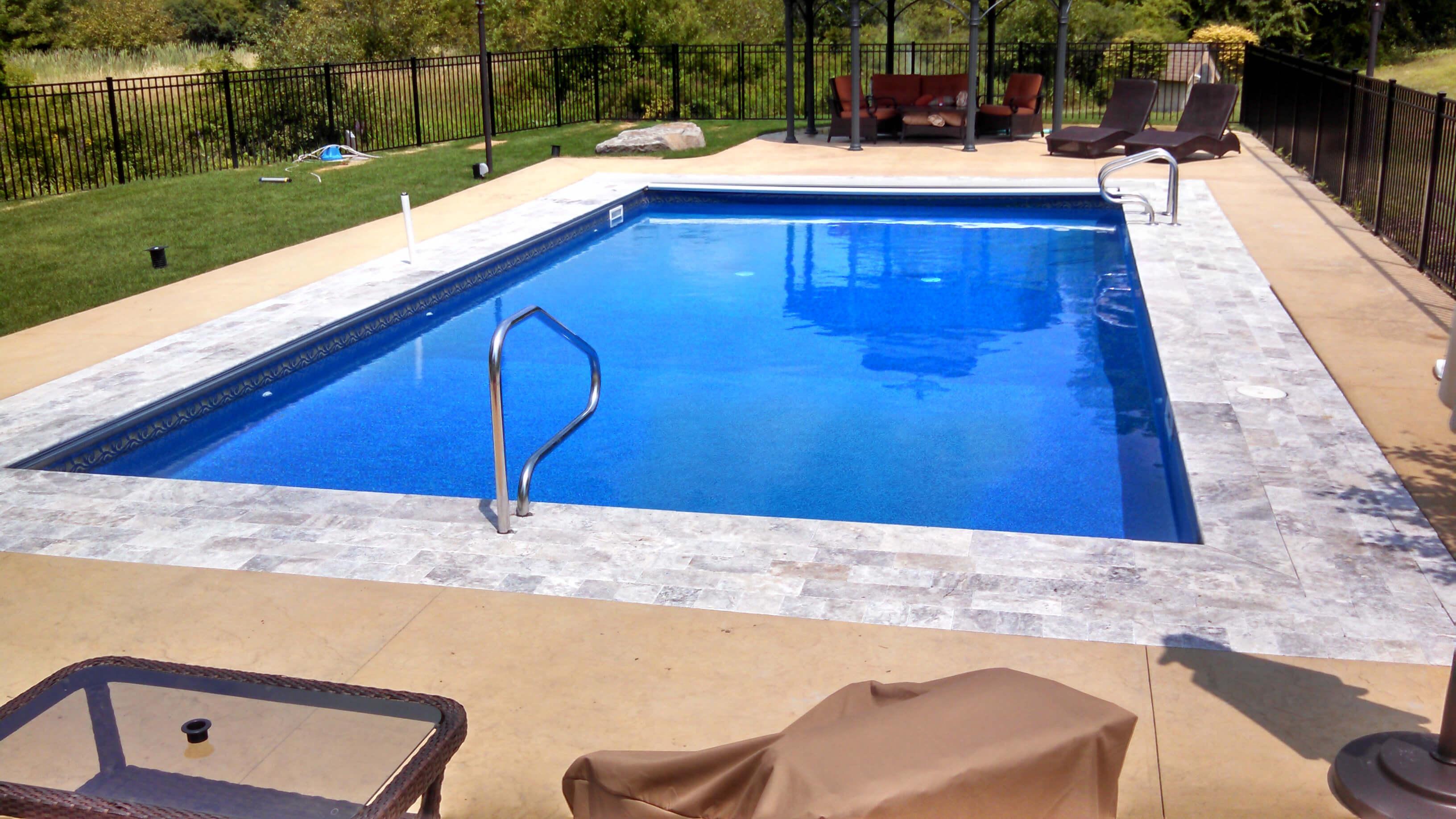 Nashua NH Inground Swimming Pool Installation