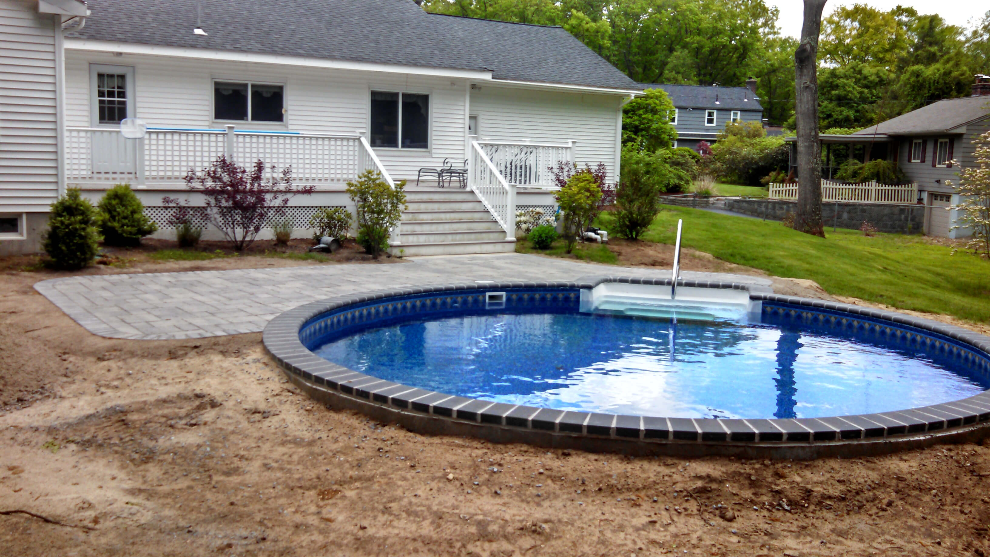 Chelmsford Ma Inground Swimming Pool Matley Swimming Pools And Spas