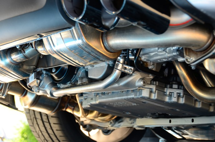 use of ceramics in car exhaust system